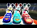 Mickey Mouse Disney Cars Lightning McQueen dance Nursery Rhymes songs