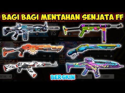 Bagi Bagi 40 Mentahan Senjata Ff Buat Edit Foto Dan Video Free Fire Indonesia Youtube