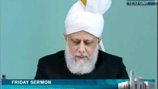 (Urdu) Friday Sermon 8th April 2011 Companions of the Promised Messiah (on whom be peace)
