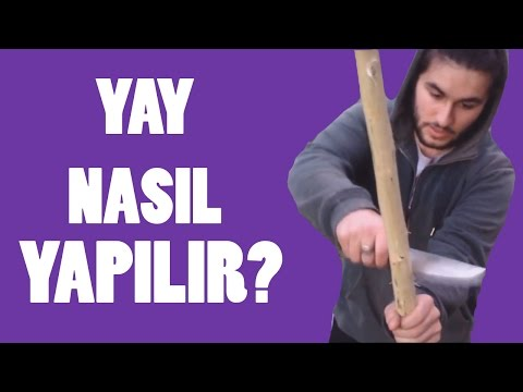 YAY NASIL YAPILIR? | HOW TO MAKE A BOW?