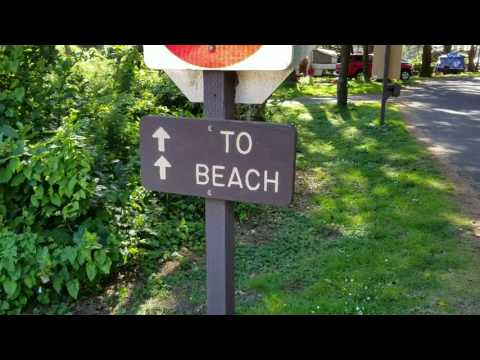Beverly Beach state park campgrounds