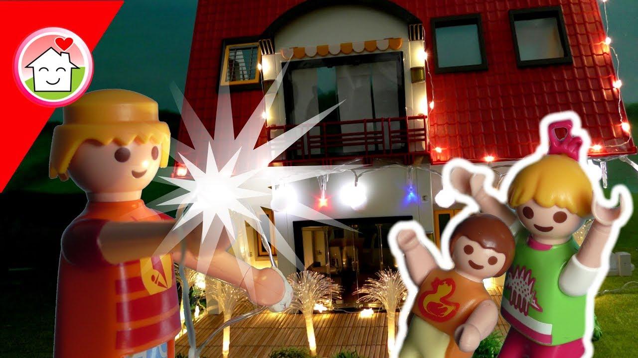 Playmobil Film Deutsch Stromausfall Familie Hauser Kinderfilme - Minecraft hauser verschonern