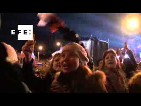 Crimea celebra la reunificación con Rusia después del referéndum
