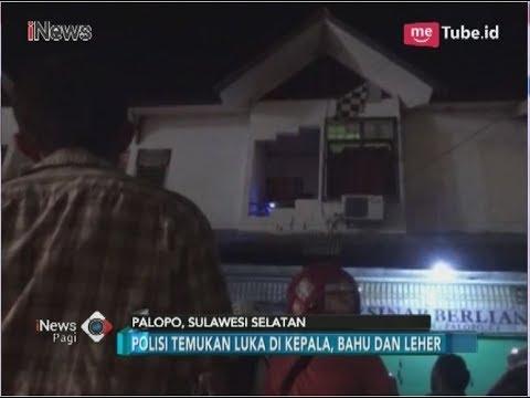 Olah TKP Pembunuhan Pemilik Toko Fashion di Palopo - iNews Pagi 14/04