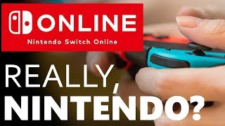 I WAITED ANOTHER YEAR FOR THIS? Disappointed with the Switch Online Service
