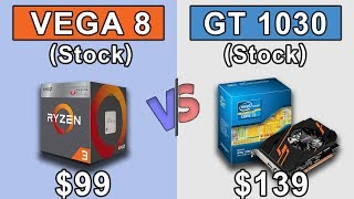 Ryzen 3 2200G APU vs GT 1030 + i5 2400 | Which is Better Value for Money...???