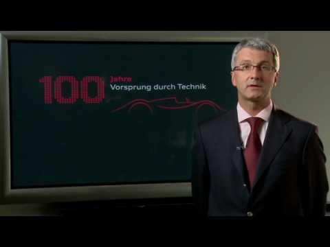 Rupert Stadler Statement about Audi 100 Jahre Anniversary Party