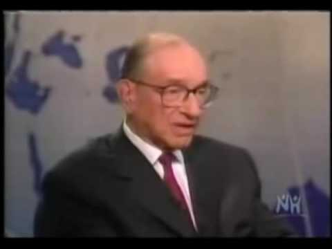 The Federal Reserve is Above the Law - Alan Greenspan