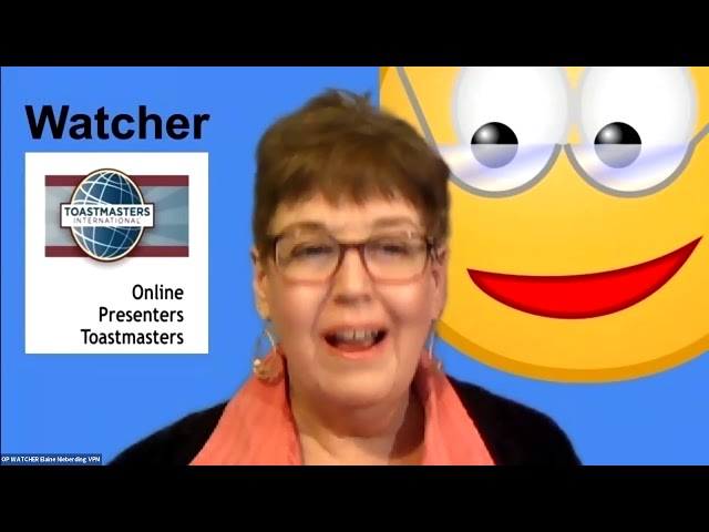 March 16 Replay - Online Presenters Toastmasters
