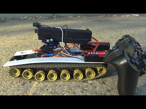 Как сделать танк на радиоуправлении