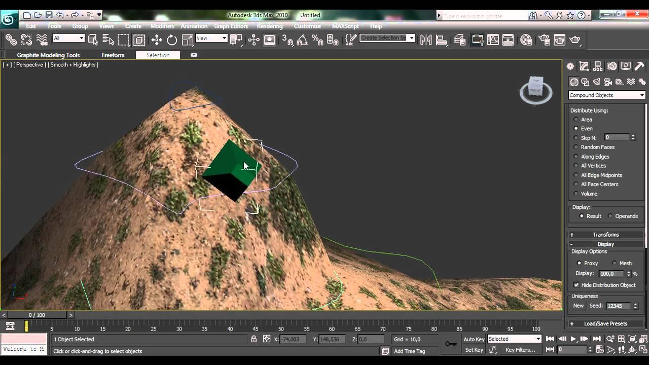 Tutorial 3d max monta a con bosque sistemas unidos youtube for Tutorial 3d max