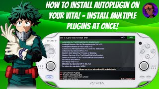 How To Install Autoplugin On Your Vita! - Install Multiple Plugins At Once! #HENkaku #Autoplugin