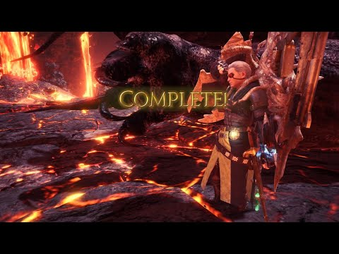 """【MHW:I】極ベヒーモス ガンランスソロ 10'49""""23 / 9★ A Visitor From Eorzea (Extreme) Gunlance Solo"""