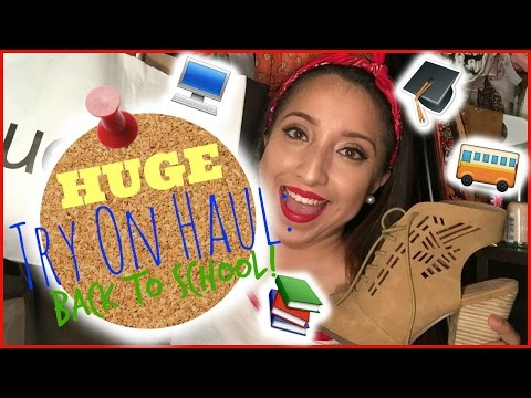 HUGE - TRY ON Clothing Haul: Back To School!