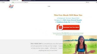 The 3 Week Diet PDF Free Download By Brian Flat