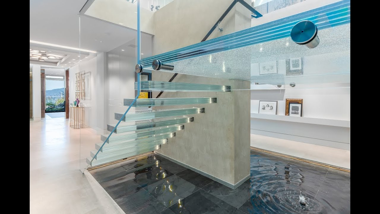 Beau Hollingsworth Glass Stair Treads By Nathan Allan