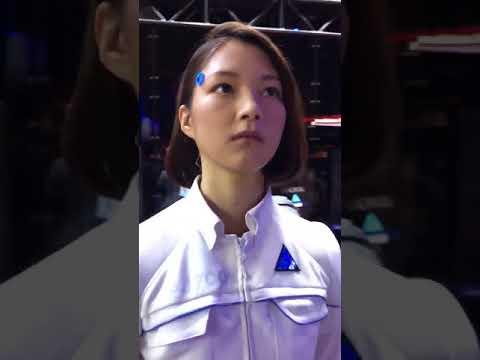 Perturbador: ¿es un androide o una mujer?