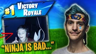 This 10 Year Old Kid is Officially Better Than NINJA...