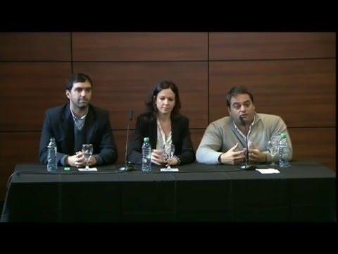 Conferencia de prensa de Carolina Stanley, Jorge Triaca y Emilio Basavilbaso