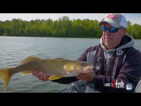 UFE S6 E4 Fly-In Fishing Adventure At Aikens Lake Wilderness Lodge In Manitoba Canada - Lund Boats