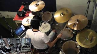 Slipknot psychosocial drum cover hd