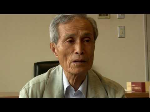 NAHP Sumiteru Taniguchi, Former Chairman of Nagasaki Council of A-Bomb Sufferers