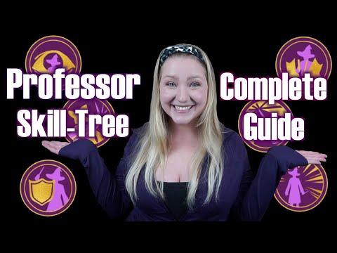 Professor Complete Skill Tree Guide: Wizards Unite