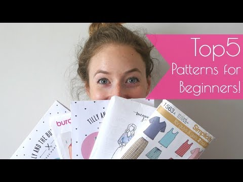 5 Sewing Patterns for Beginners - My recommendations.
