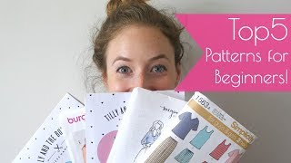 5 Sewing Patterns for Beginners - My recommendations