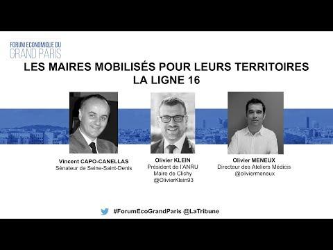 GRAND PARIS EXPRESS | Les maires mobilisés pour la Ligne 16