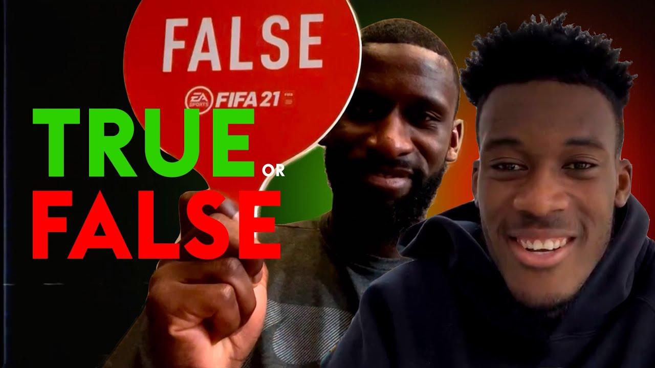 Is Hudson-Odoi the Chelsea dance-off king?! | TRUE or FALSE | Callum Hudson-Odoi & Antonio Rudig