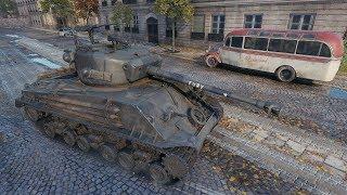 World of Tanks M4A3E8 Fury 2668 DMG - Paris