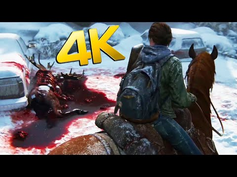 THE LAST OF US 2 : 12 Min RAW 4K GAMEPLAY (Outbreak Day - No Commentary)