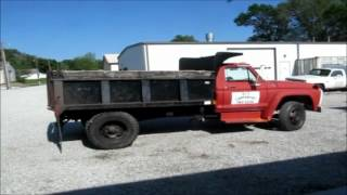 1976 Ford F500 single axle dump truck for sale | sold at auction May 31, 2012