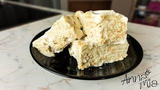 Λευκός κορμός με 3 υλικά! / White dessert with 3 ingredients
