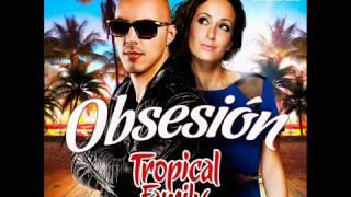 Kenza Farah et Lucenzo {Tropical Family}   Obsesion 360p)
