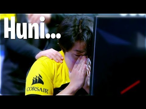 Huni Ends Up Crying After Semifinals Match Vs. Team Liquid: League of Legends - Lol Stream Moments