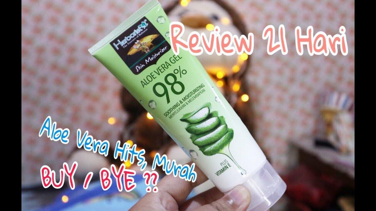 Review Memakai Masker Gel Aloe Vera Untuk Wajah Berjerawat