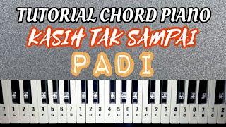 TUTORIAL CHORD PIANO KASIH TAK SAMPAI   PADI REBORN