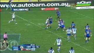 NRL 2011 Round 25 Highlights: Bulldogs V Knights