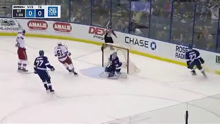 Mika Zibanejad overtime winner vs Tampa Bay Lightning 3/6/17