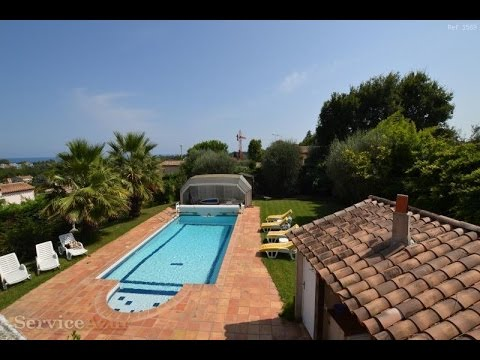 Luxury villa for rent in Antibes Cote d'Azur