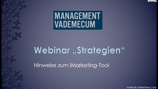 Webinar Strategie