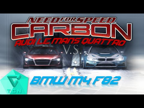 Need for Speed Carbon | BMW M4 F82 (No Limits) vs. Audi Le Mans Quattro (Darius) [HD 60FPS]