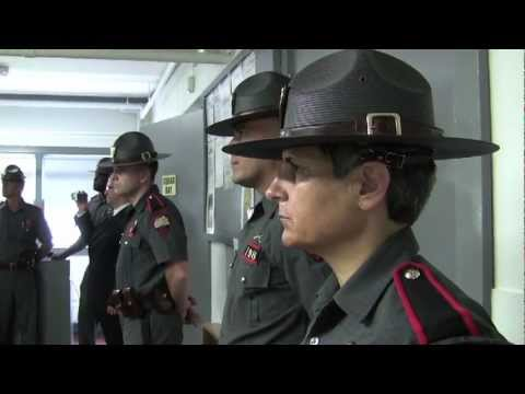 RI State Police Academy opens with push-ups