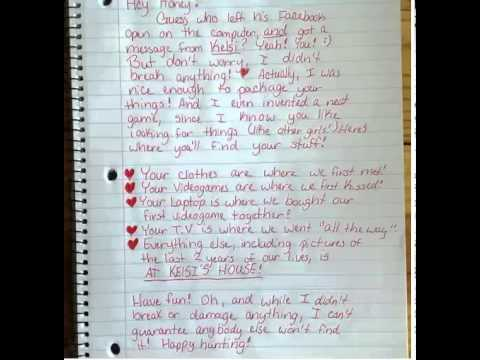 Funny Breakup: This Might Be The Best Breakup Letter Ever - YouTube
