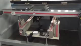 aluminium backguage of Hydraulic Steel Sheet bending machine/CNC Sheet Metal press brake