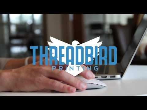 Threadbird Printing - Promo Video (2013)