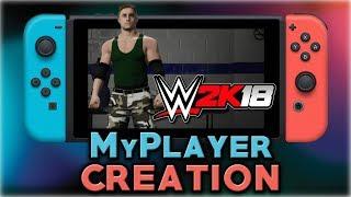 WWE 2K18   MyPLAYER Creation   Nintendo Switch