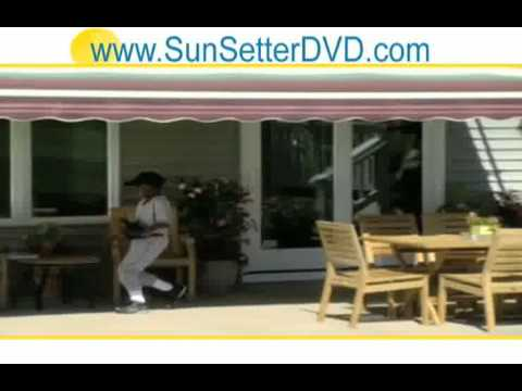 New Jersey Sunsetter Easyshade Screen Room Outdoor